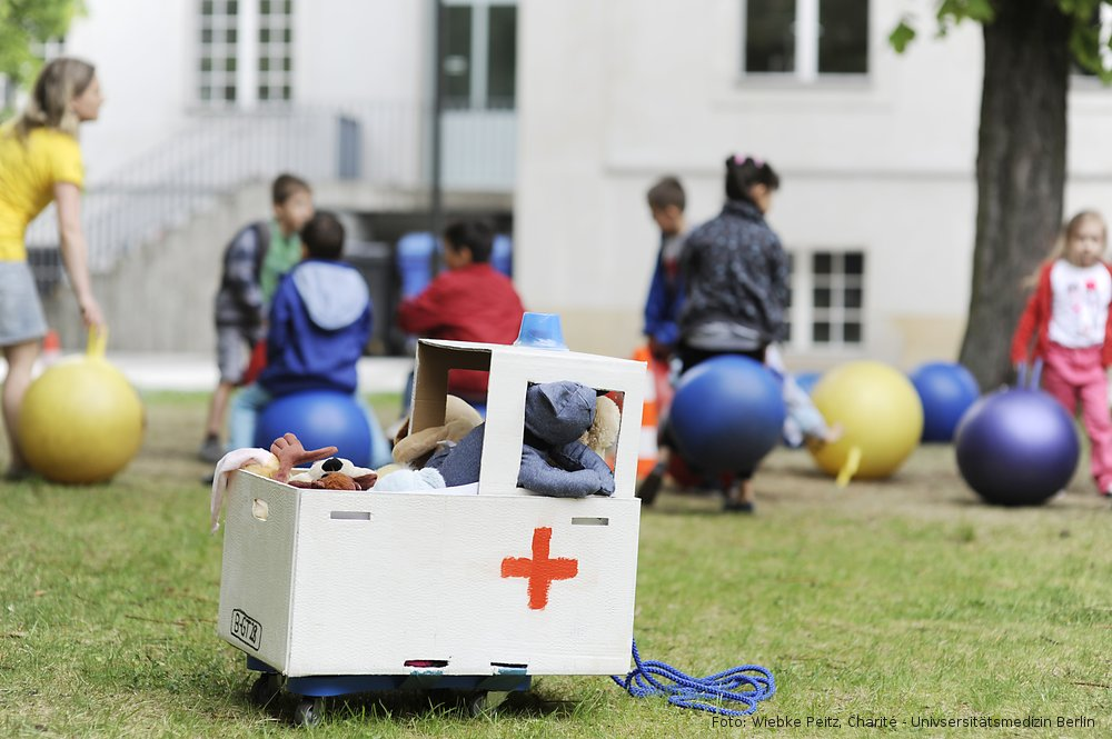 Teddy-Rettungswagen